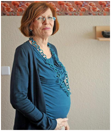 anziana incinta